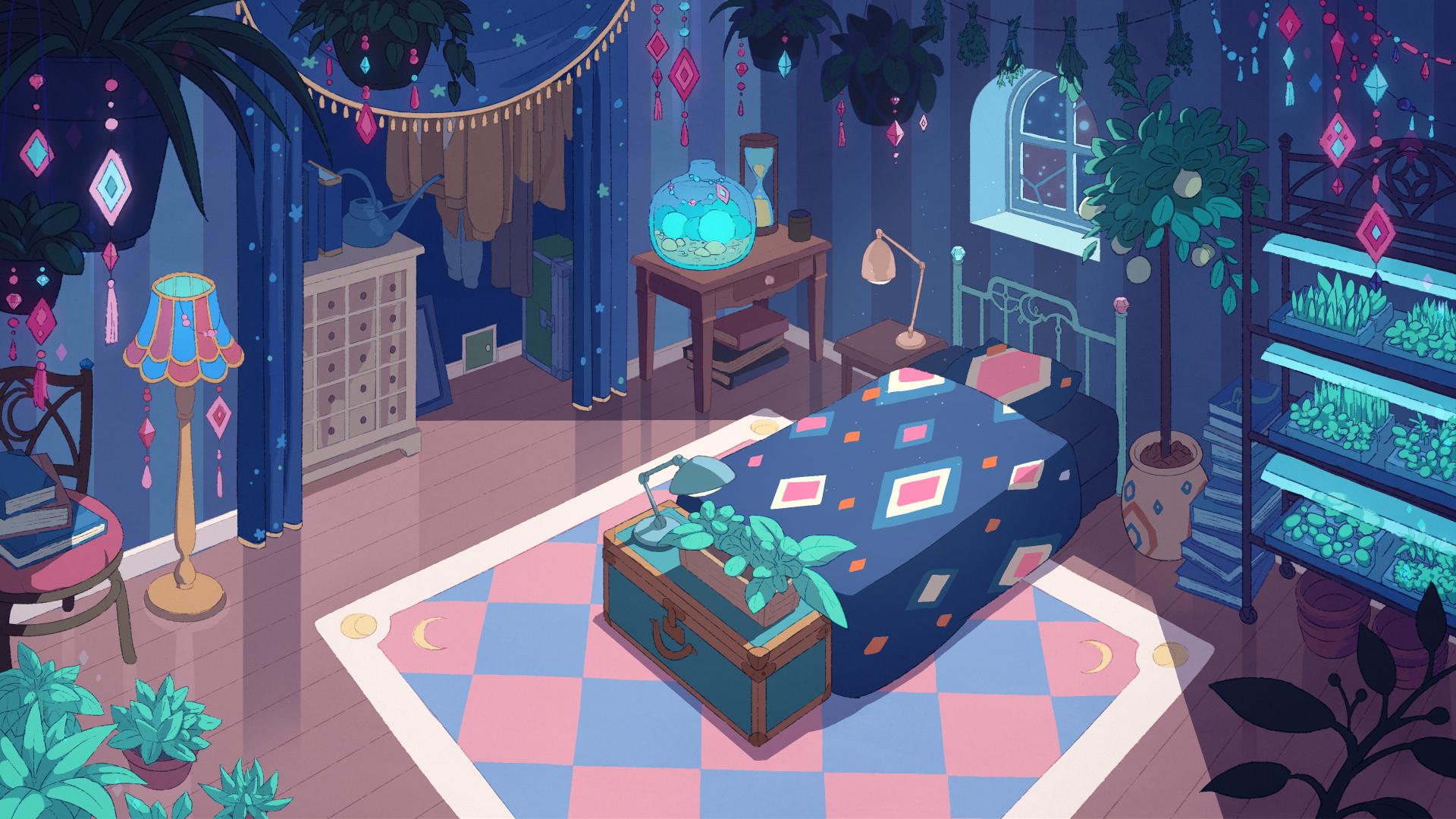 Bedroom Background Color